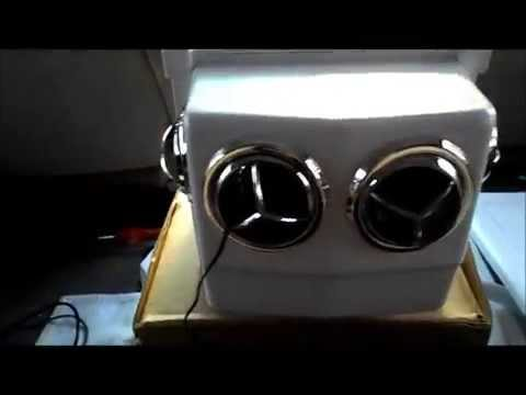 12 Volt Portable A/C MightyKool MK4 Running a home Air conditioner in your Van The truth