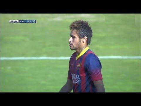 Valladolid  vs Barcelona (1-0) All Goals & Highlights 08.03.2014