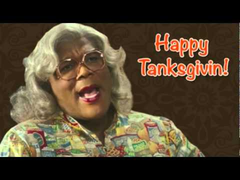 Happy Thanksgiving from Madea