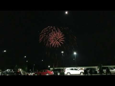 Waldron Indiana 2017 July 4th Fireworks