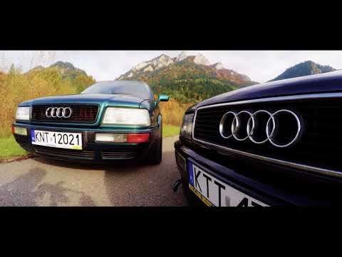 Lowered Audi 80