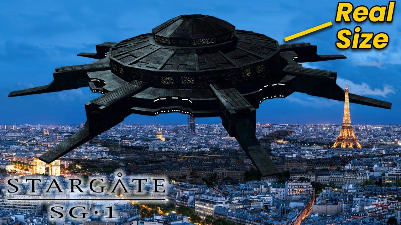 Stargate Ships EXPLAINED: Anubis' Mothership