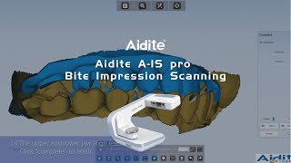 Aidite A IS pro Bite Impression Scanning