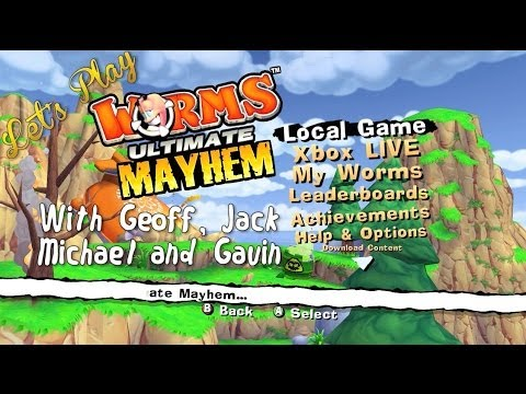 Lets Play – Worms: Ultimate Mayhem