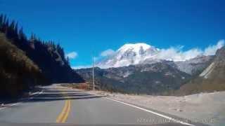A drive to Mount Rainier