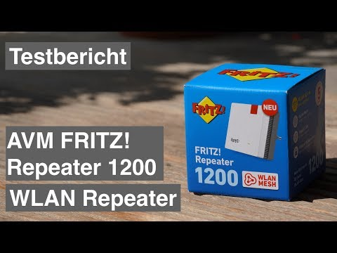 Test: AVM FRITZ!Repeater 1200 (WLAN Repeater)