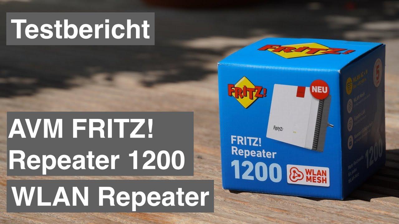Test AVM FRITZRepeater 20 WLAN Repeater