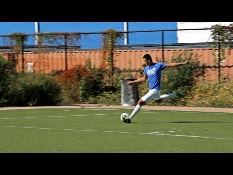How To Cross A Soccer Ball | Soccer Skills