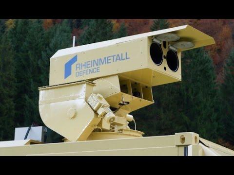 New German laser Air Defence System - Rheinmettal Oerlikon