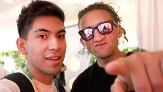 Hanging out with Casey Neistat