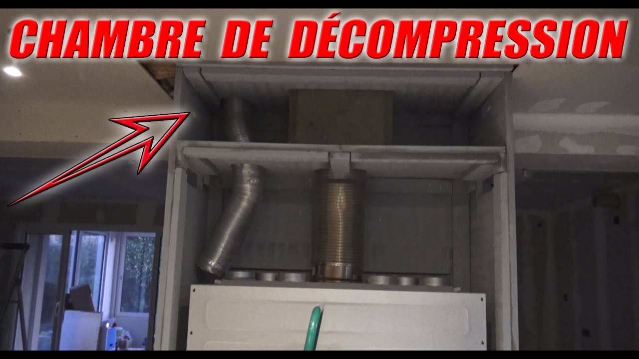 Fabrication Caisson DÉcompression D Insert Cheminée Tuto Bricolage Youtube