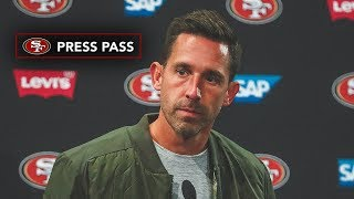 Kyle Shanahan 'Disappointed We Didn't Win' vs. Giants   49ers Press Conference