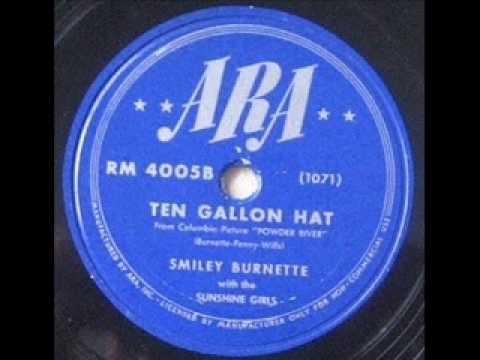 Smiley Burnette - Ten Gallon Hat