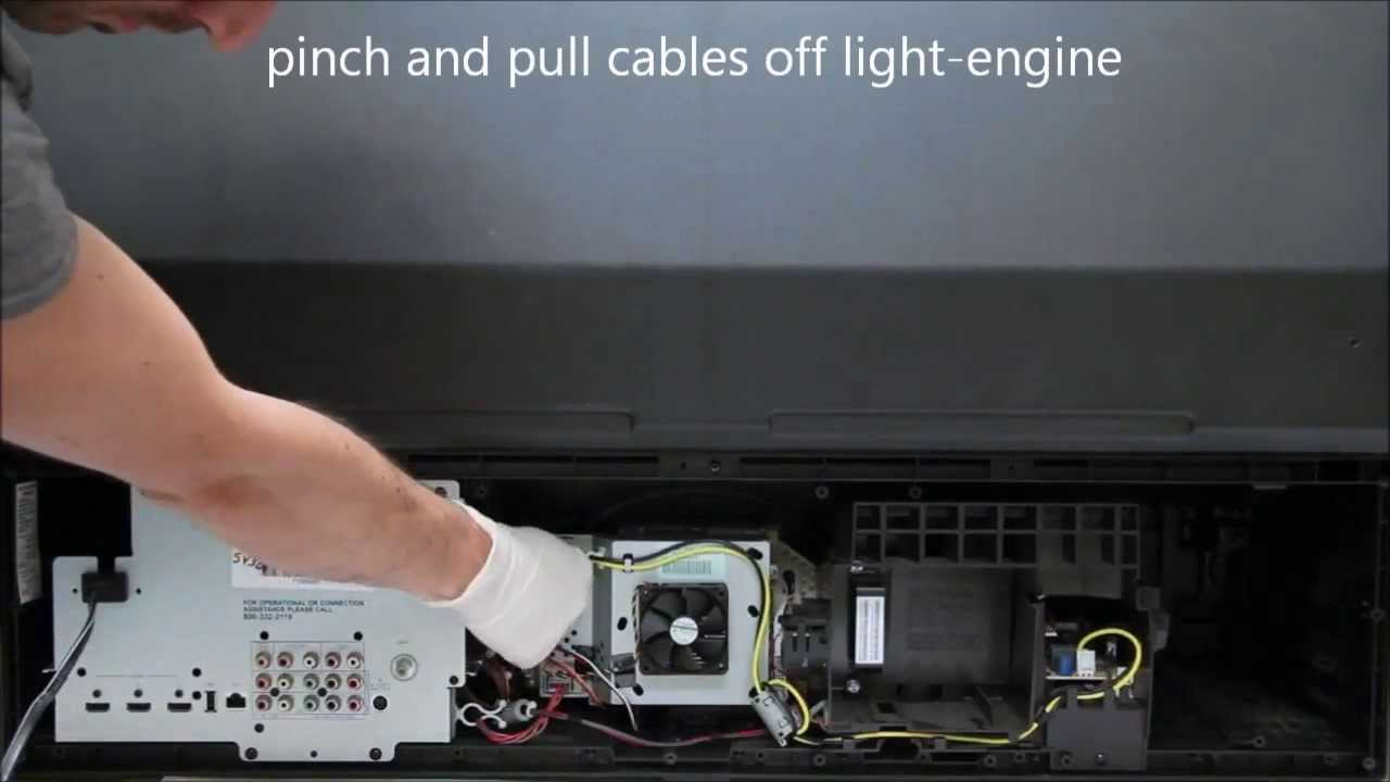 chip replace fix tips dlp dots supplied once mitsubishi yourself tricks tv and bulb
