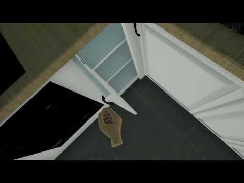 Квартира с интерактивом в виртуальной реальности для застройщиков. VR Showroom продажа недвижимости