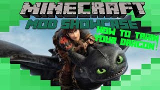How To Train Your Dragon! - Minecraft Mod Showcase!! Flying Beasts!