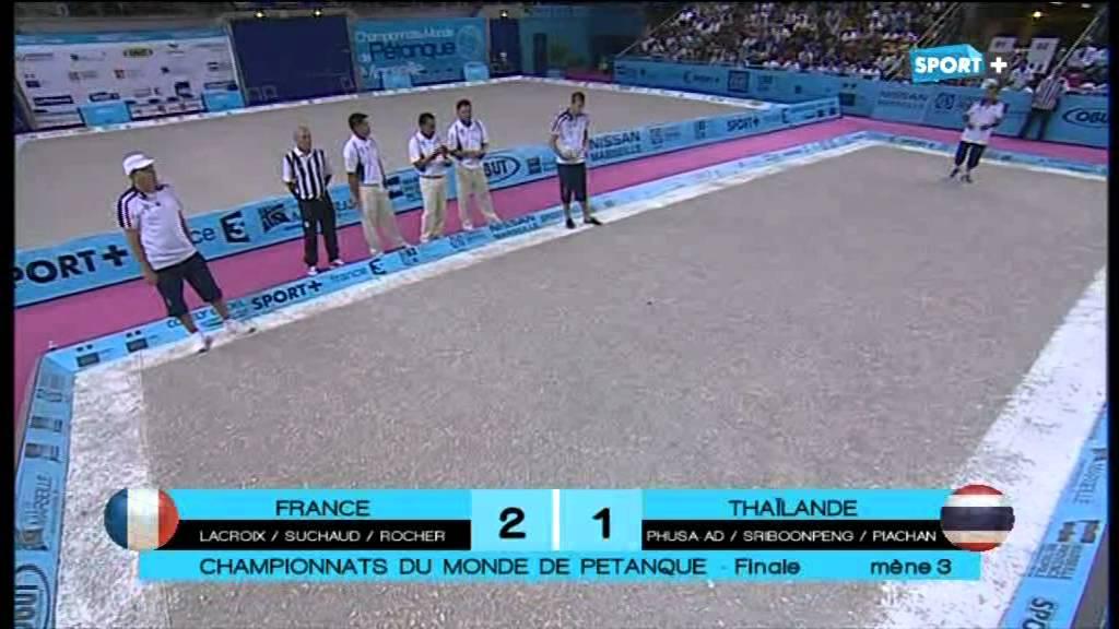 Finale championnat du monde de p tanque 2012 part for Championnat du monde de boules carrees