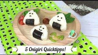 5 Onigiri Quicktipps - einfacher und schneller zu deinem Reisbällchen