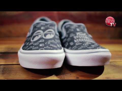 unboxing Vans japan x Mooneyes slip on (Yokohama Hot Rod Custom Show 2016)