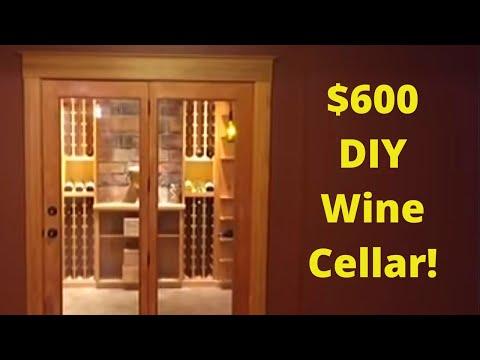 DIY Wine Cellar - Fully Custom - $600