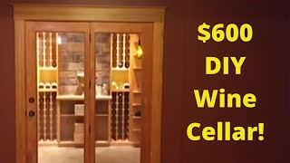 DIY Wine Cellar on the cheap
