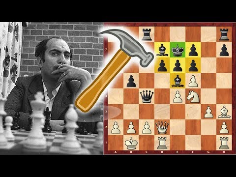 Can Mikhail Tal Break This Solid Formation??