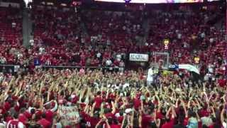 New Mexico Lobos 2013 MWC Championship Celebration