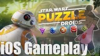 Star Wars Puzzle Droids iOS Gameplay
