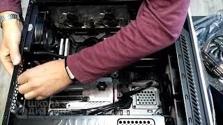 Скачать 07 Установка видеокарта в компьютер для 3D Max