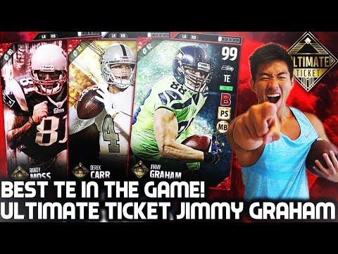 WE GET ULTIMATE TICKET JIMMY GRAHAM! MADDEN 17 ULTIMATE TEAM