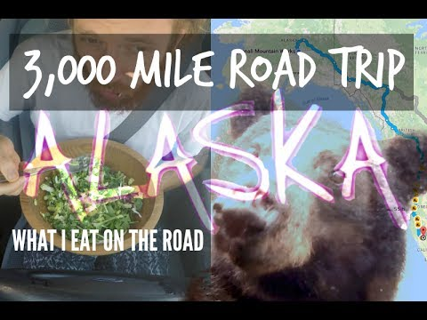 3,000 Mile Road Trip to ALASKA! & What I eat on the road | R
