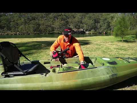 Kingfish Kayak Review-Bay Kayaks Kayak Fishing United NSW
