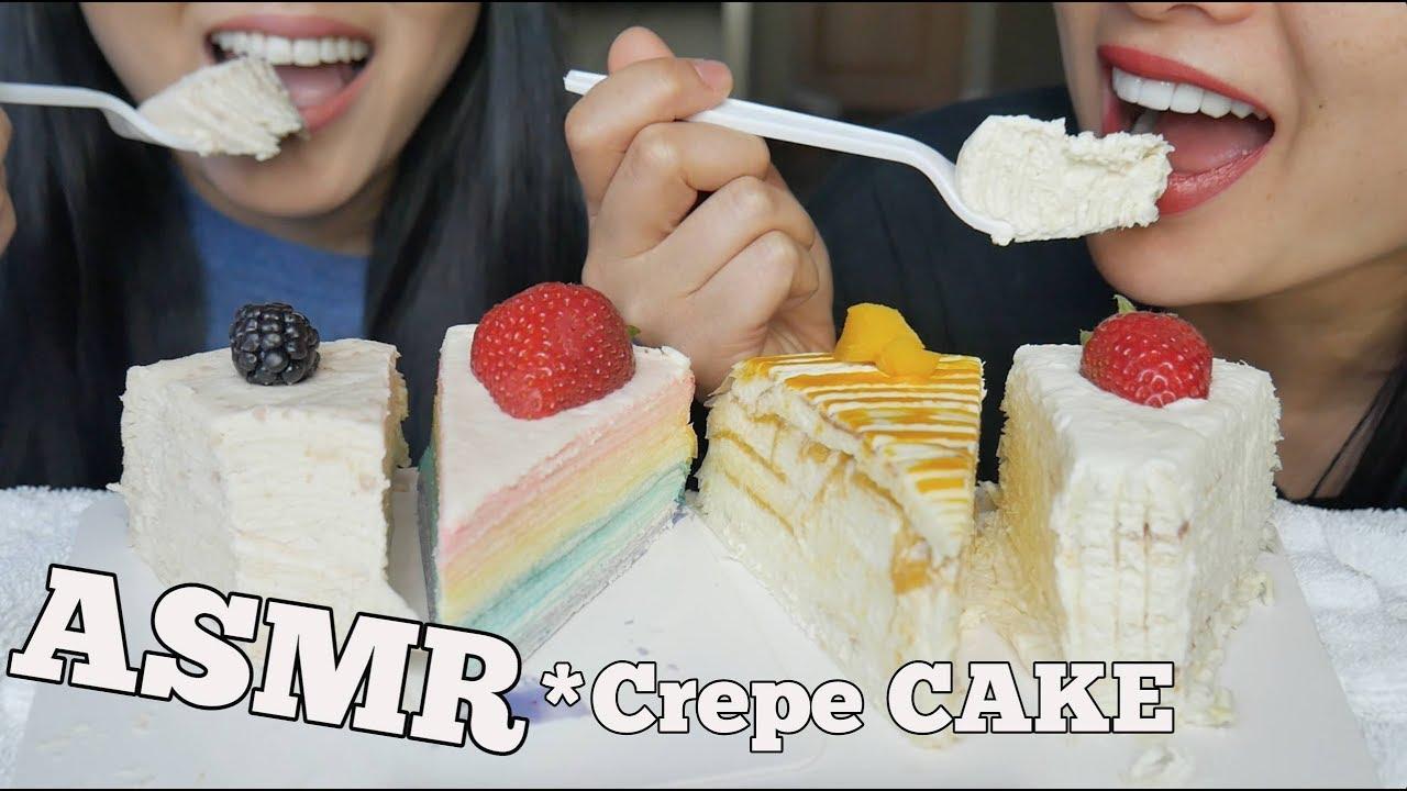 Asmr Crepe Cakes Soft Eating Sounds No Talking Sas Asmr Featuring Asmr Phan Youtube 1 jour ago 1 jour ago. asmr crepe cakes soft eating sounds no talking sas asmr featuring asmr phan