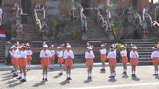 Gerak Jalan Indah SD N 2 Petak Kaja Kota Gianyar No Undi 29  - HUT RI 2019