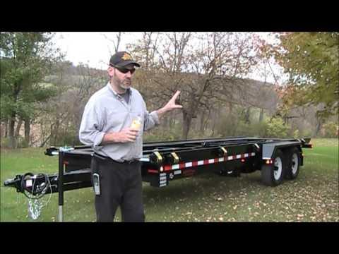 Shed Trailer Barn Trailer Creekside Welding Youtube