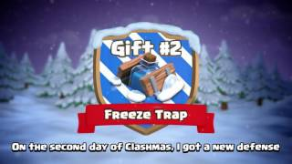 Clash of clans new freeze trap Christmas trailer