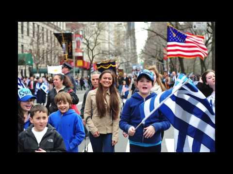 GREEK PARADE 2015 INTERVIEWS AND GRAND MARSHALS TALK TO GREEK AMERICAN NEWS PROGRAM