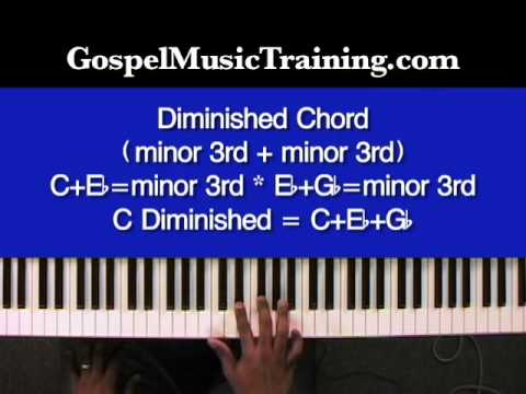 03 Diminished Vs Augmented Chords Youtube