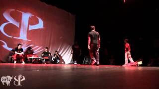 Simo (Morocco) vs Lil G (Venezuela) Powermove Semifinal   8 One Powermove 2011