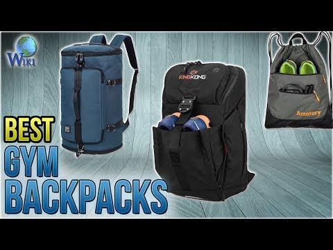 10 Best Gym Backpacks 2018