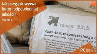 Jak przygotowywać beton odpowiedniej jakości?