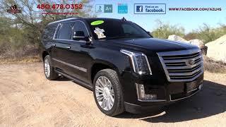 2016 Cadillac Escalade ESV Platinum 4WD SUV - Luxury Motorsports (15290)