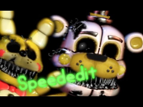 Nightmare Old Funtime Toy Golden Freddy