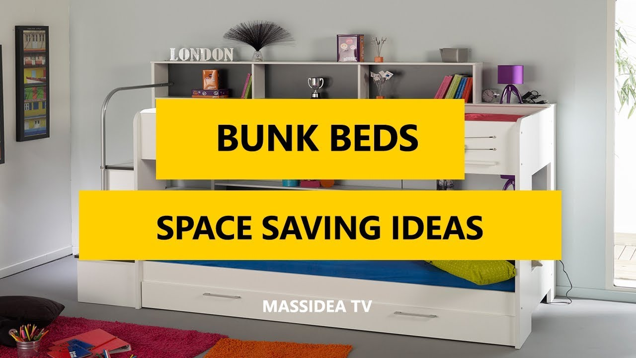 35 Fresh Space Saving Bunk Beds Ideas For Your Home 2018 Youtube