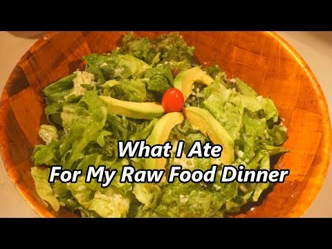Day 4: What I Ate For My Raw Food Vegan Dinner With Recipes And Fun From Our Baby
