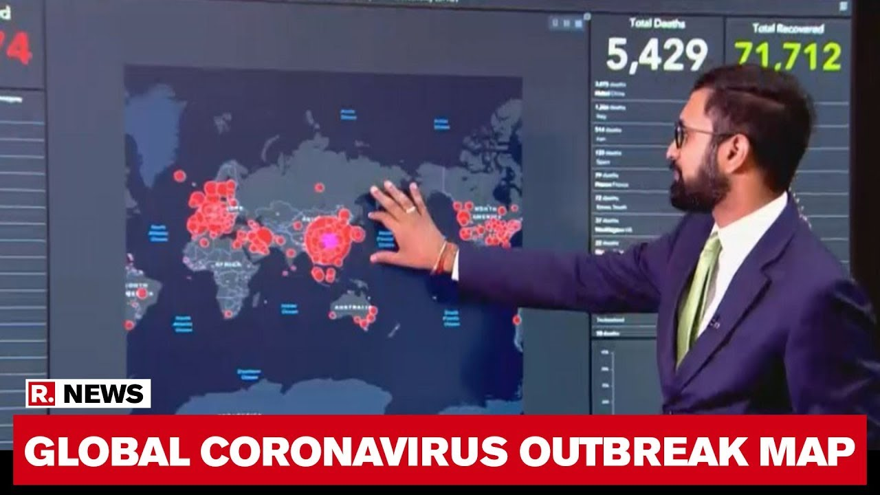 This Covid-19 Map Explains Why Europe Has Now Been Deemed The Global Coronavirus Epicentre