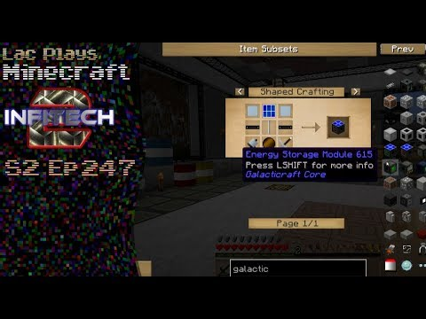 Lac Plays FTB Infi-Tech 2 S2 Ep 247 Can I Get Power From The Sun?