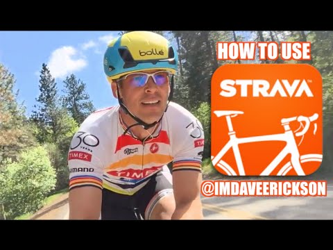 How to Use Strava Cycling App with Dave Erickson