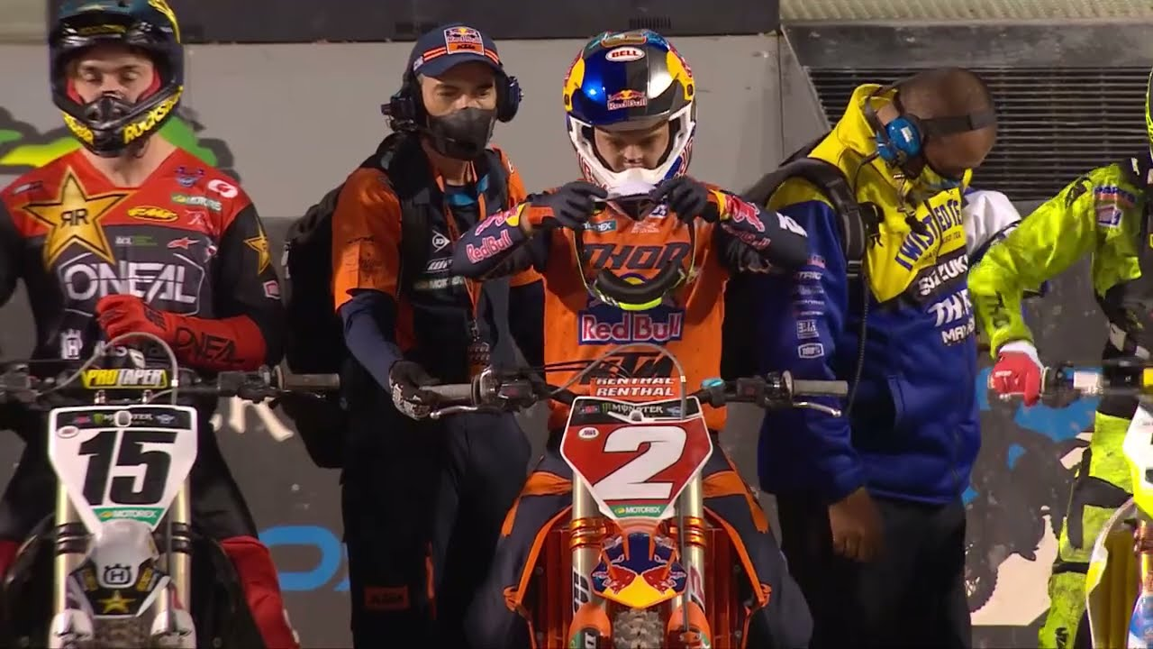 450SX Main Event Highlights Round 17!