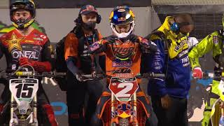 450SX Main Event Highlights - Round 17 - Salt Lake City